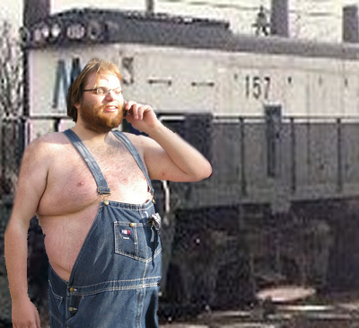 Fat Guys in Overalls The Fat Man in Overalls